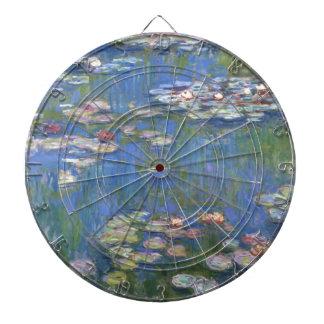 Lirios de agua de Claude Monet // Tabla Dardos