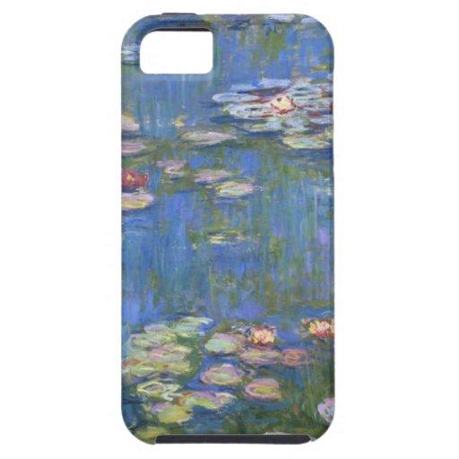 Lirios de agua de Claude Monet // iPhone 5 Cárcasas