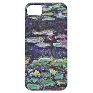 Lirios de agua de Claude Monet iPhone 5 Carcasas