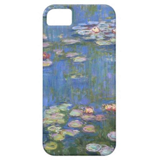 Lirios de agua de Claude Monet // Funda Para iPhone 5 Barely There