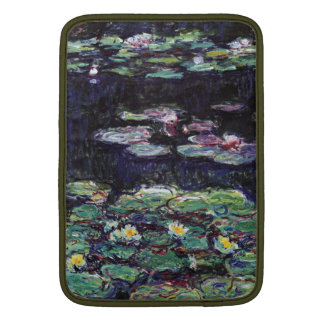 Lirios de agua de Claude Monet Fundas MacBook