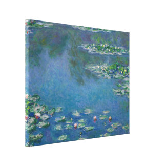 Lirios de agua de Claude Monet Impresión En Lienzo
