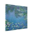Lirios de agua de Claude Monet Impresiones En Lienzo Estiradas