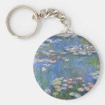 Lirios de agua de Claude Monet // Llaveros Personalizados