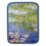 Lirios de agua de Claude Monet Mangas De iPad