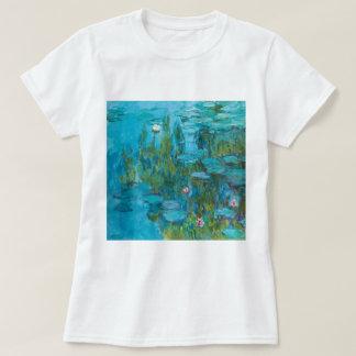 Lirios de agua de Claude Monet Nymphéas GalleryHD Playera