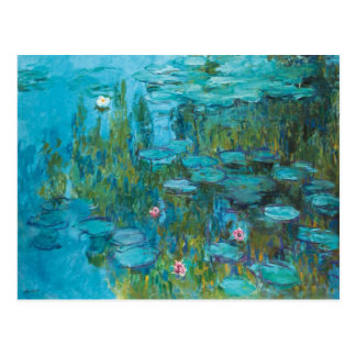 Lirios de agua de Claude Monet Nympheas GalleryHD Tarjetas Postales