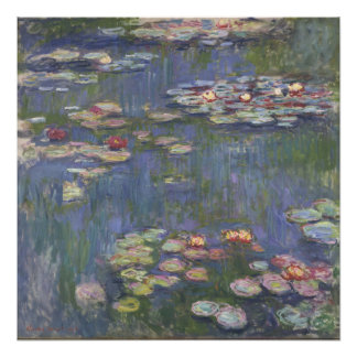Lirios de agua de Claude Monet Fotografia