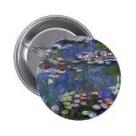 Lirios de agua de Claude Monet Pin