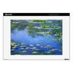 Lirios de agua de Claude Monet Portátil Calcomanía