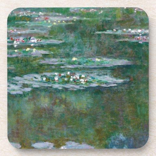 Lirios de agua de Claude Monet // Posavaso