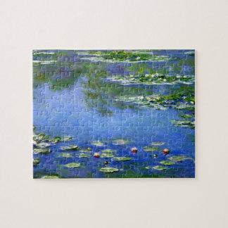 Lirios de agua de Claude Monet Puzzles Con Fotos