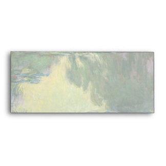 Lirios de agua de Claude Monet que pintan Sobre