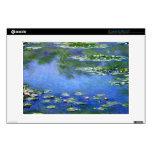 Lirios de agua de Claude Monet Skins Para 33cm Portátil