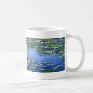 Lirios de agua de Claude Monet Tazas