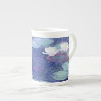 Lirios de agua de Claude Monet Taza De Porcelana