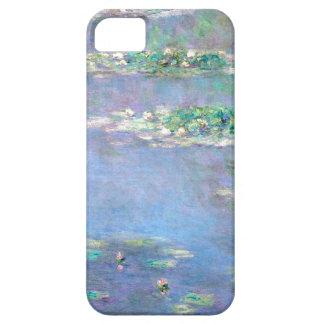 Lirios de agua de Les Nympheas de Claude Monet iPhone 5 Cárcasa