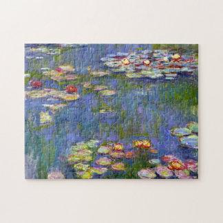 Lirios de agua de Monet 1916 Puzzle