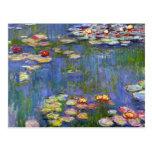 Lirios de agua de Monet 1916 Tarjeta Postal