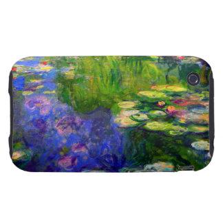 Lirios de agua de Monet 1917-19 iPhone 3 Tough Cobertura