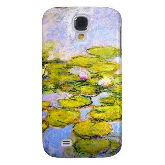Lirios de agua de Monet 1919 v2 Funda Para Galaxy S4