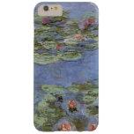 Lirios de agua de Monet del vintage Funda De iPhone 6 Plus Barely There