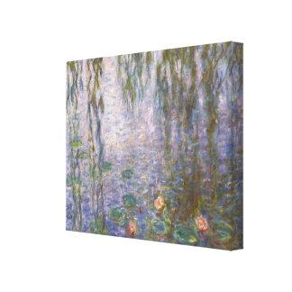 Lirios de agua de Monet Impresión En Lienzo Estirada