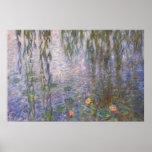 Lirios de agua de Monet Posters