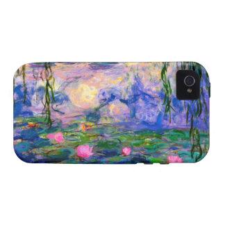 Lirios de agua de Monet v3 Vibe iPhone 4 Fundas