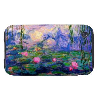 Lirios de agua de Monet v3 Tough iPhone 3 Cobertura