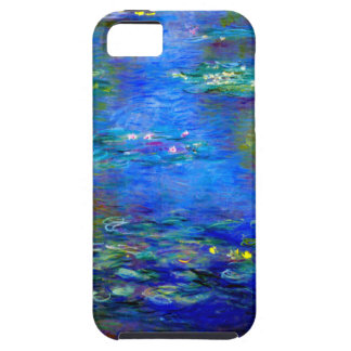 Lirios de agua de Monet v4 iPhone 5 Funda