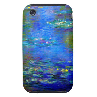 Lirios de agua de Monet v4 Tough iPhone 3 Cobertura