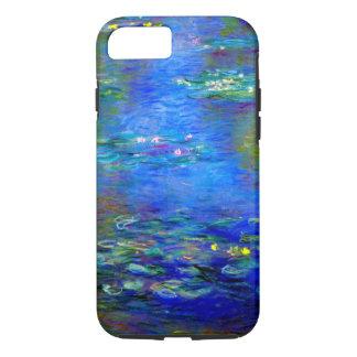 Lirios de agua de Monet v4 Funda iPhone 7