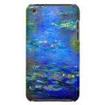 Lirios de agua de Monet v4 iPod Case-Mate Cárcasas