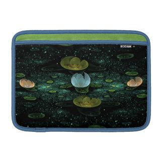 Lirios de agua en la manga de aire de Macbook de l Funda Para Macbook Air