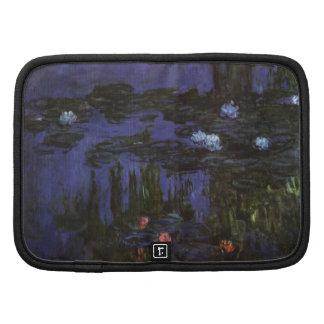 Lirios de agua, Monet, flores del impresionismo de Organizadores