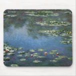 Lirios de agua, Monet, flores del impresionismo Tapetes De Raton