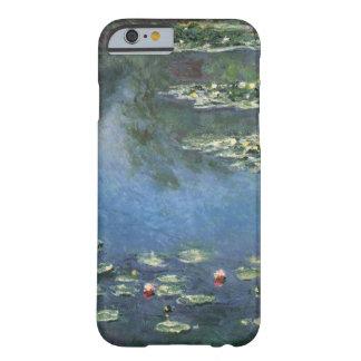 Lirios de agua por impresionismo floral del funda de iPhone 6 barely there