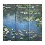 Lirios de agua por impresionismo floral del impresiones de lienzo