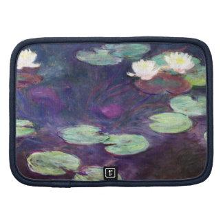 Lirios de agua rosa Claude Monet 1897-99 fresco Organizador