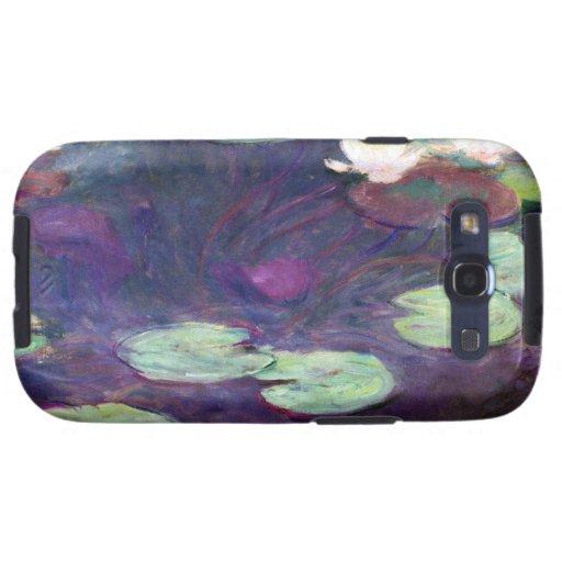 Lirios de agua, rosa, Claude Monet 1897-99 fresco, Samsung Galaxy SIII Funda