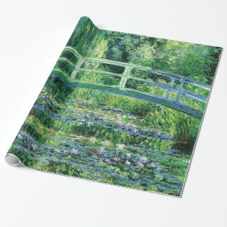 Lirios de agua y puente japonés, Claude Monet