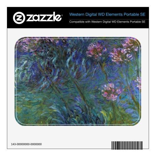 Lirios de la joyería de Claude Monet WD Elements SE Skins