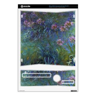 Lirios de la joyería de Claude Monet Skins Para Xbox 360 S