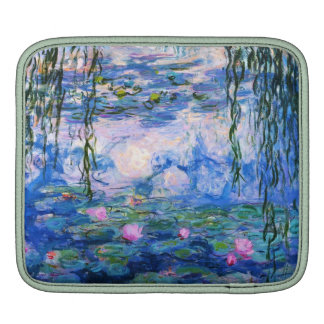 Lirios del agua de Monet Funda Para iPads