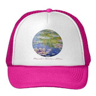 Lirios del agua de Monet Gorros