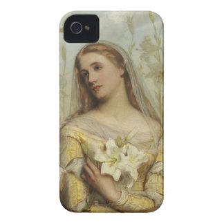 Lirios por el caso 4s de papa Iphone 4 de Gustavo Case-Mate iPhone 4 Protector