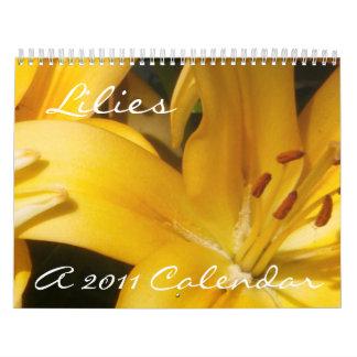 Lirios: Un calendario 2011