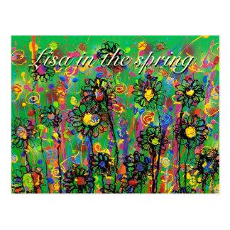 """""""Lisa en postal de la primavera"""""""