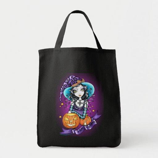 """""""Lisa"""" Halloween Pumpkin Witch Bag"""
